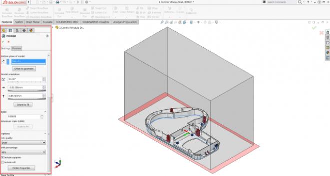 SolidWorks & Impression 3D