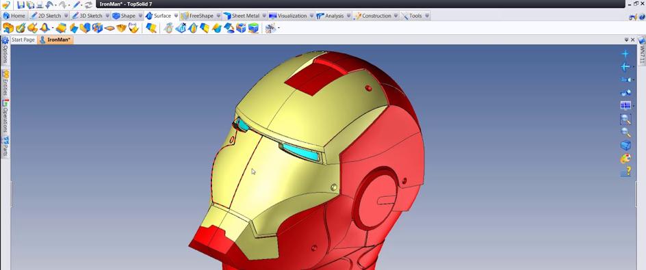 TopSolid pour Impression 3D