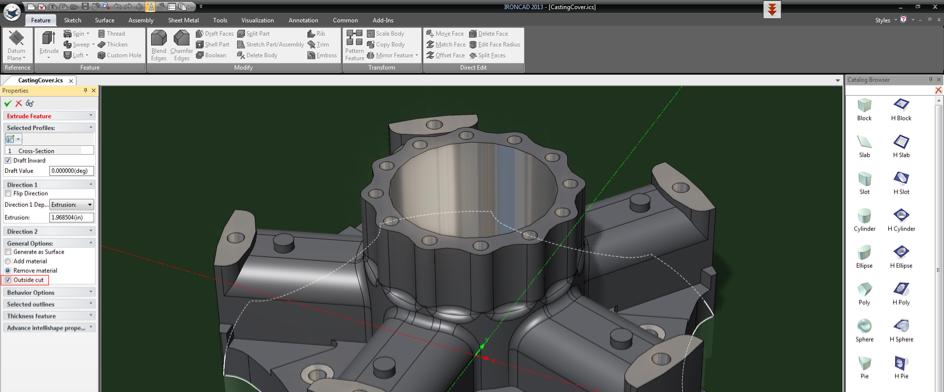 Ironcad pour Impression 3D