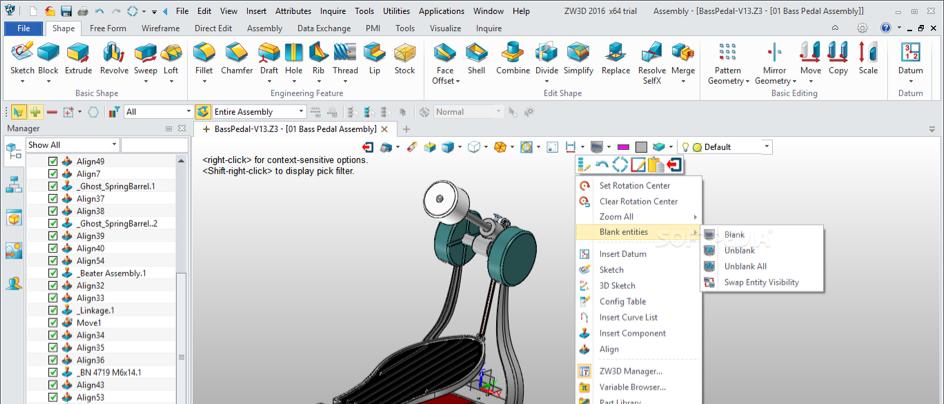 ZW3D pour Impression 3D