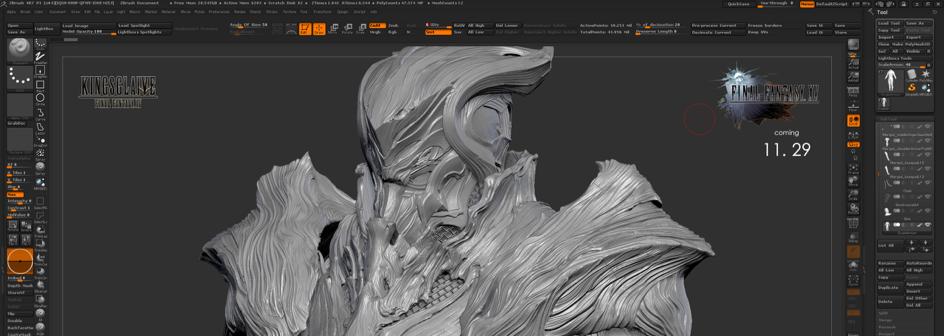 Zbrush pour Impression 3D