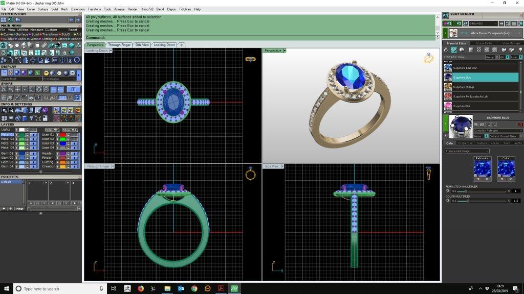 MatrixGold pour Impression 3D