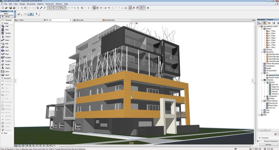 ArchiCad pour Impression 3D