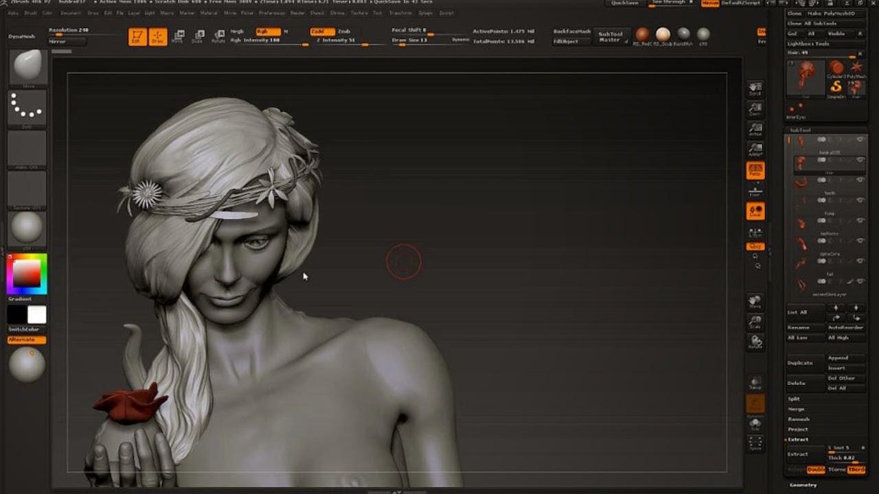 Zbrush Impression 3D