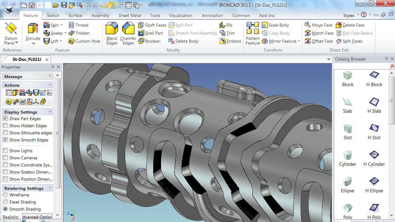 IronCad Impression 3D