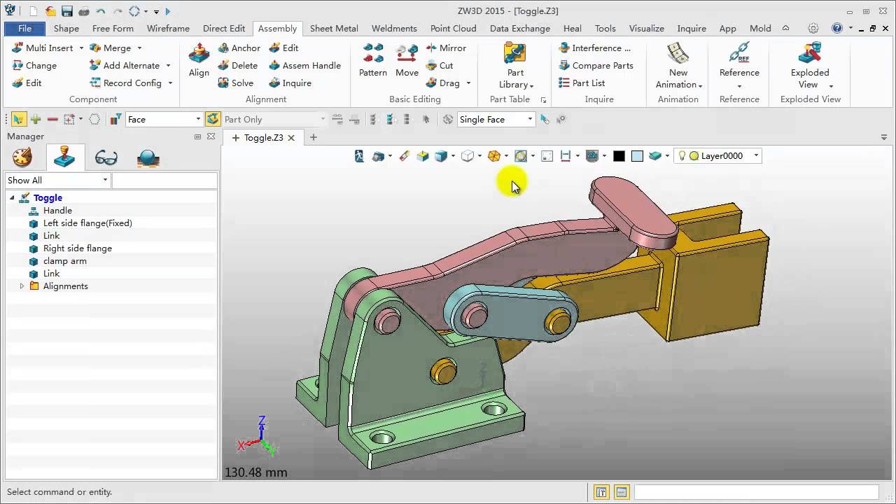 ZW3D Impression 3D