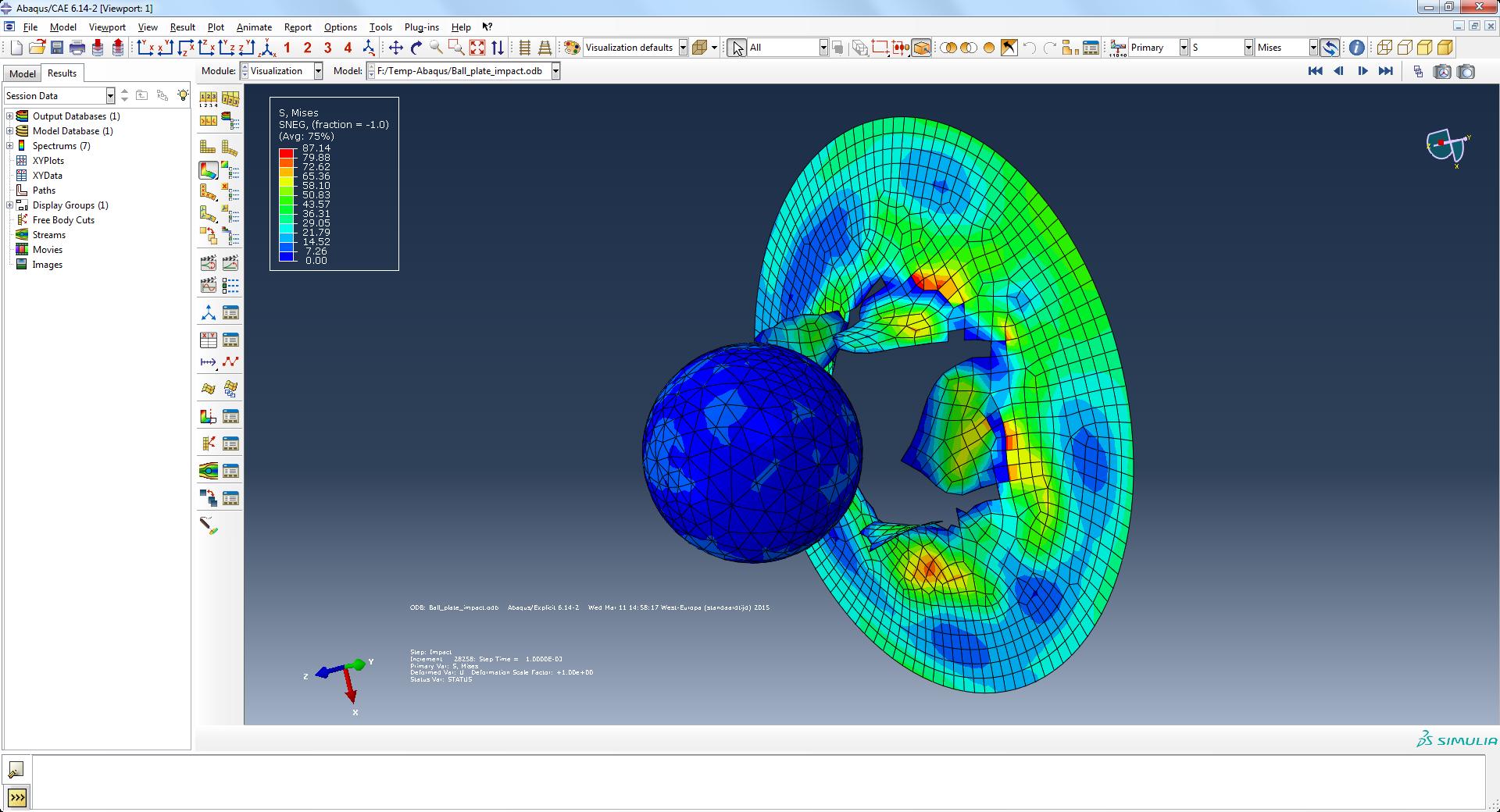 Simulia Impression 3D