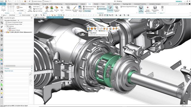 NX Siemens Impression 3D