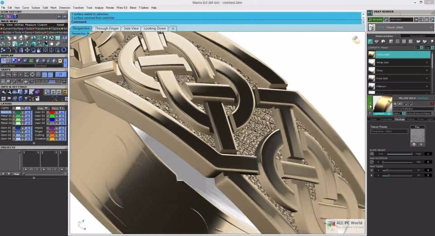MatrixGold Impression 3D
