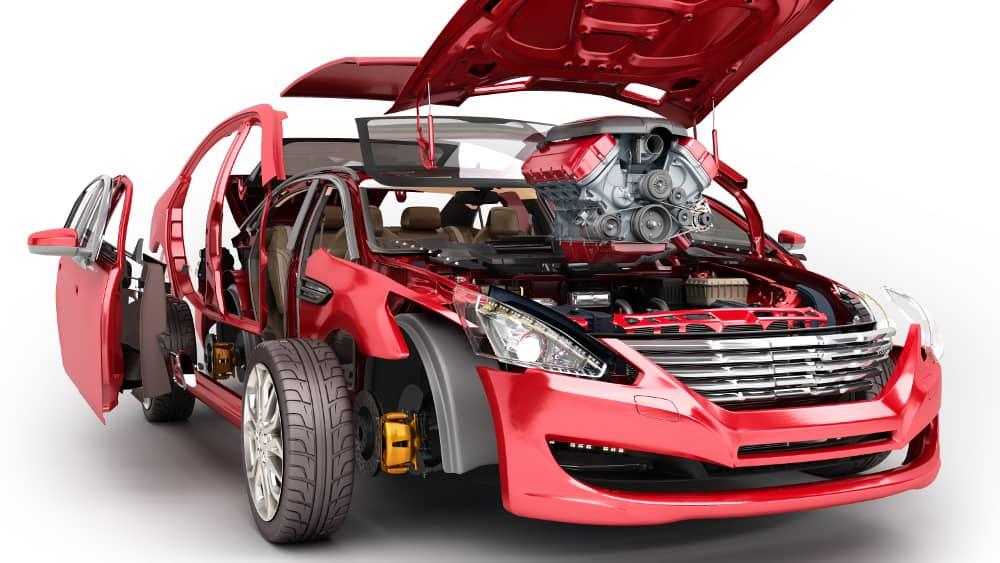 Impression 3D dans l'Automobile